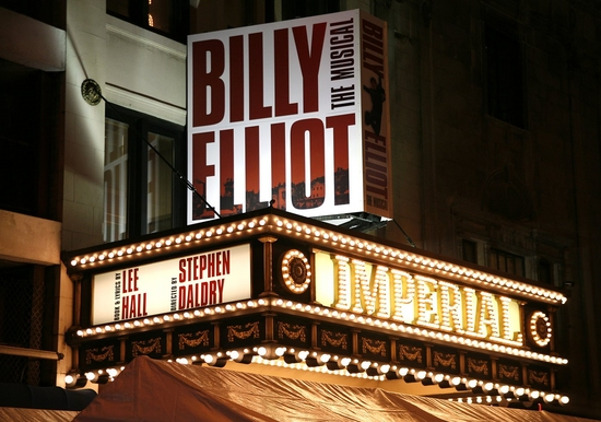 Photo Coverage: BILLY ELLIOT Opening Night Arrivals