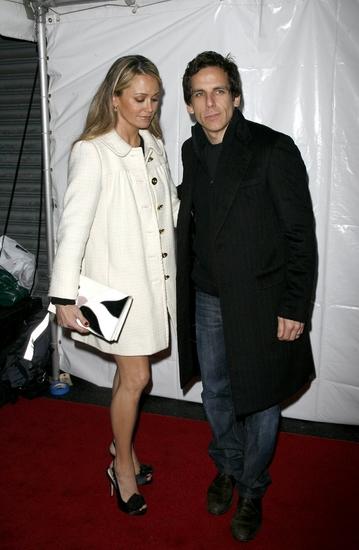 Christine Taylor and husband Ben Stiller