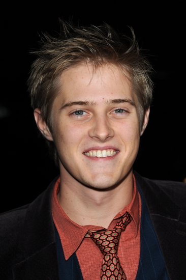 Lucas Grabeel at Van Sant's MILK Hollywood Premiere