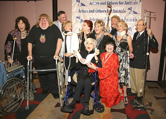 Lily Tomlin, Bruce Vilanch, Peter Marshal, Florence Henderson, Carole Cook, Carol Channing, Mary Jo Catlett, JoAnne Worley, Rip Taylor, Tippi Hedren and Harry Kullijian.
