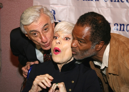 Jamie Farr, Carol Channing and Ted Lange