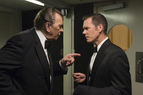 Frank Langella and Kevin Bacon