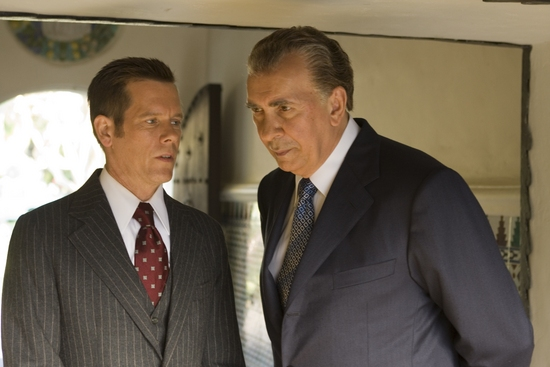 Kevin Bacon and Frank Langella