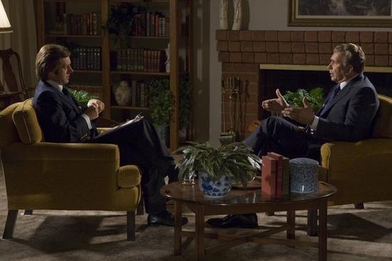 Michael Sheen and Frank Langella