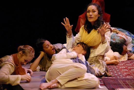 Sofia Jean Gomez, Pranidihi Varshney, Stacey Yen and Nicole Shalhoub Photo