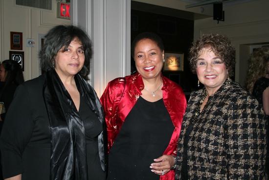 Linda Earle, Veronica Claypool (NYS Arts President Board of Directors) and Judith Weiner (NYS Arts Executive Director)