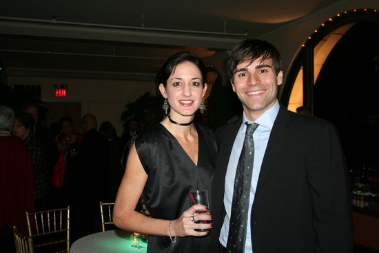 Natalie Gilhome and Adam Fiorentino