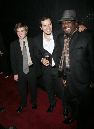 Haley Joel Osment, John Leguizamo and Cedric The Entertainer at AMERICAN BUFFALO After Party