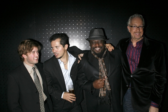 Haley Joel Osment, John Leguizamo, Cedric The Entertainer and Robert Falls at AMERICAN BUFFALO After Party