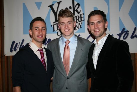 Joey Dudding, Shonn Wiley and Daniel Reichard
