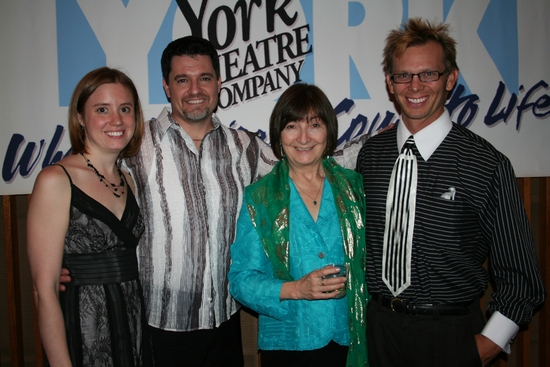 Christine Rieley, Doug Oberhamer, Lynne Taylor-Corbett and Scott Thornton
