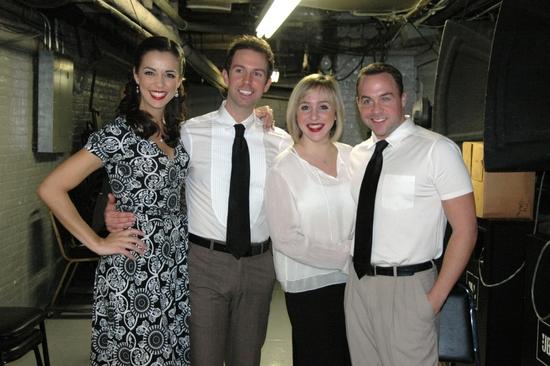 Erin Denman, Jeremy Benton, Anna White and Benjie Randall
