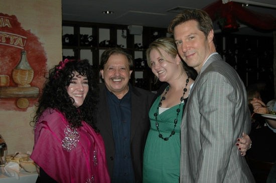 Barbara Siegel, Ellis Nassour, Erica Ryan and Ron Bohmer