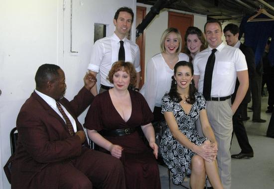 Chuck Cooper, Lorinda Lisitza, Erin Denman, Jeremy Benton, Anna White, Christiane Nol Photo