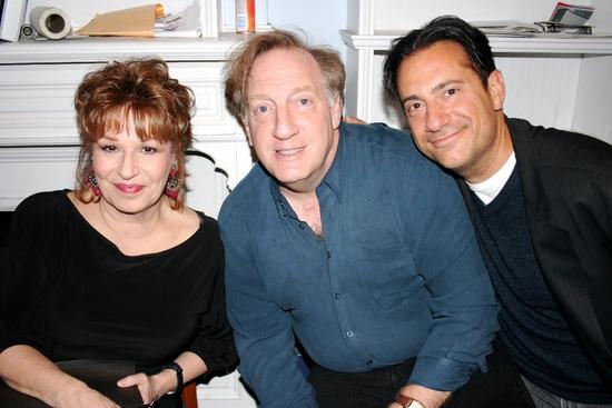 Joy Behar, Alan Zweibel and Eugene Pack Photo
