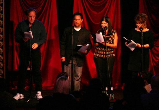 Alan Zweibel, Eugene Pack, Dayle Reyfel and Joy Behar Photo