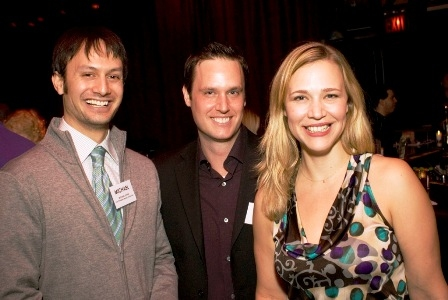 Board Vice-President Michael Kayne, Board Member Jack Little & Co-Artistic Director Tiffany Little Canfield