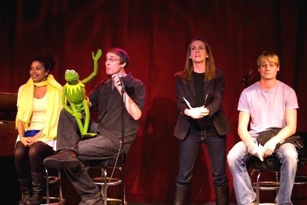 Rebecca Naomi Jones, Kermit, Rick Lyon, Susan Blackwell, and Paul David Story