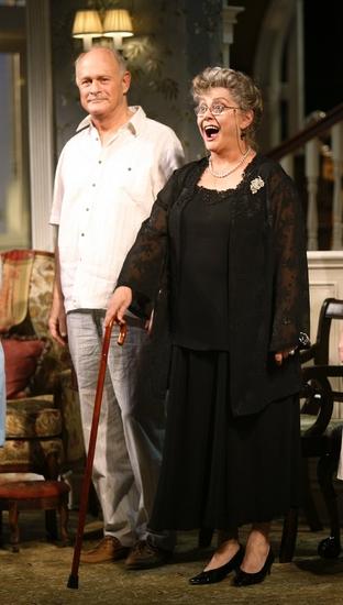 Gerald McRaney and Elizabeth Ashley