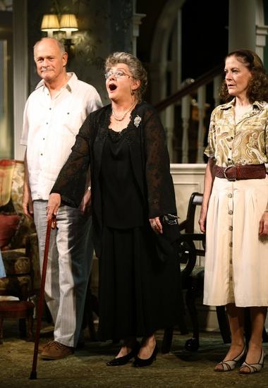 Gerald McRaney, Elizabeth Ashley and Hallie Foote