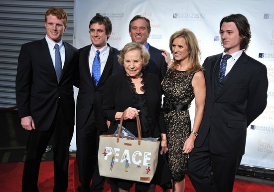 Joseph Kennedy, Matt Kennedy, Ethel Kennedy and Robert F. Kennedy Jr.