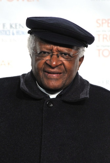 Desmond Tutu at Robert F. Kennedy Center for Justice Gala