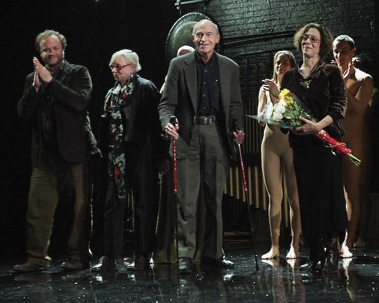 Martha Clarke is joined by Lighting Designer Richard Ackerlind, Costume Designer Jane Greenwood, and Composer Richard Peaslee