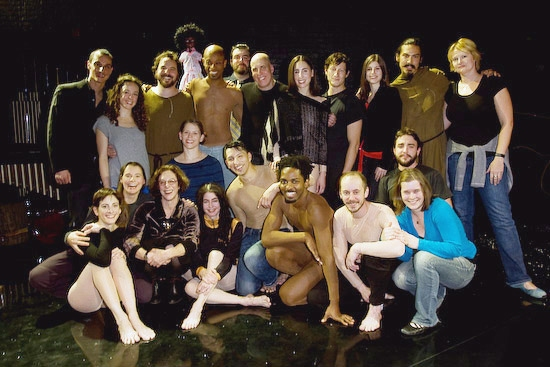 Martha Clarke and the company of Garden of Earthly Delights
