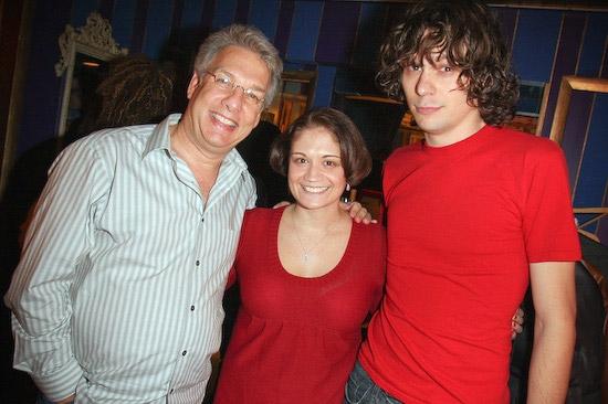 Marc Summers, Rachel Maier, and Jerzy Gwiazdowski