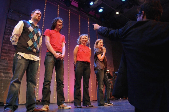 David Rossmer, Jerzy Gwiazdowski, Sarah Saltzberg, and Sandy Rustin conducted by Steve Rosen