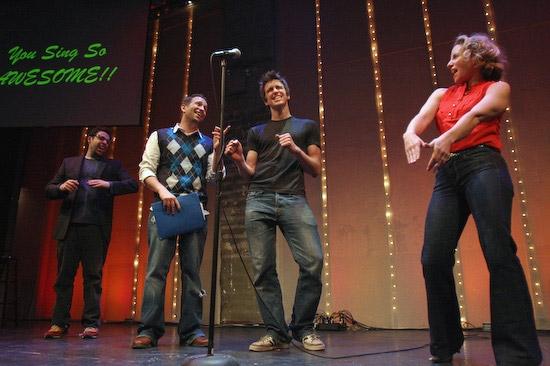 Steve Rosen, David Rossmer, Gavin Creel, and Sarah Saltzberg