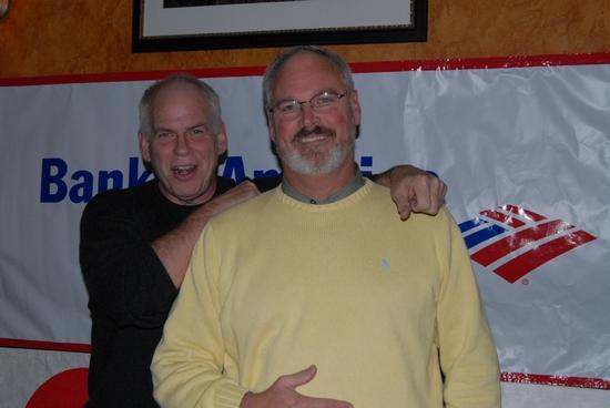 Gary Rausenberger and Michael Hotopp set builders Cigar Box Studios