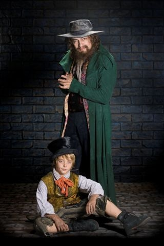 Rowan Atkinson as Fagin Photo