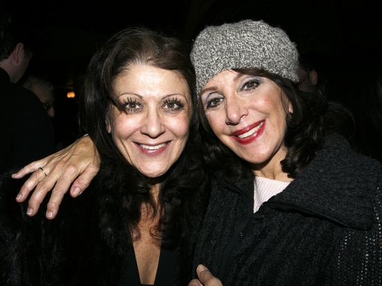 Lenora Nemetz and Andrea Martin at ON THE TOWN Closing Night Party