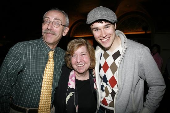 Jeff Hochhauser, Melanie Herman and Sam Underwood
