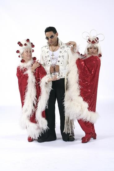Denise Blasor, Sol Castillo and Teresa Velarde