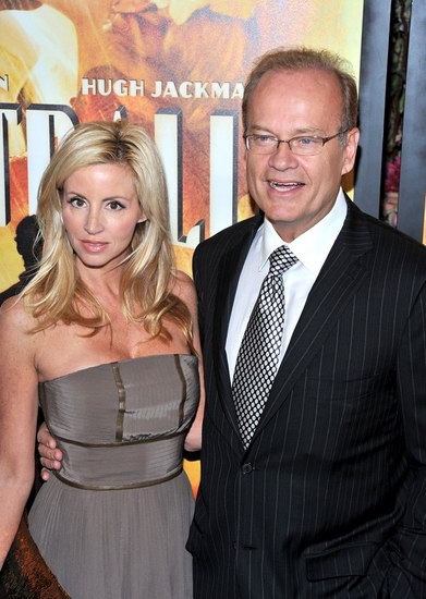 Kelsey Grammer and Camille Grammer at New York Premiere of 'AUSTRALIA'