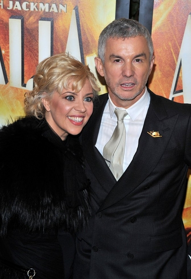 Catherine Martin and Baz Luhrmann at New York Premiere of 'AUSTRALIA'