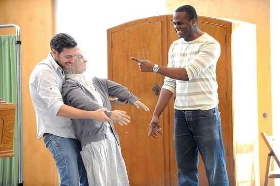 Photo Flash: LOOT in Rehearsal