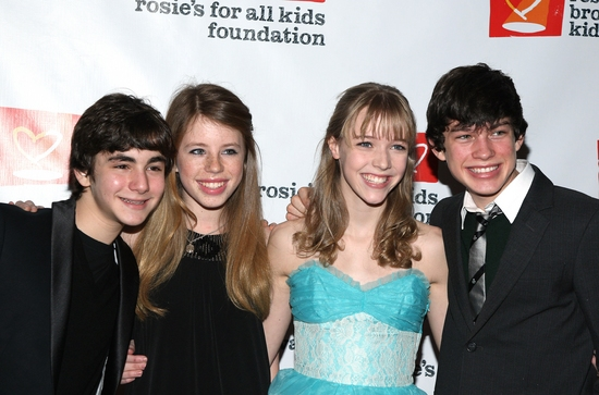 Aaron Simon Gross, Allie Trimm, Delaney Moro, and Graham Phillips