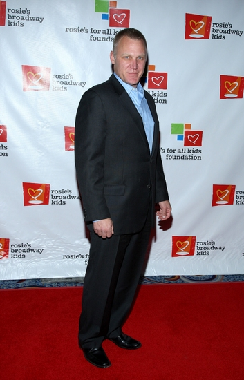 Terry Serpico at Rosie's Gala: Building Dreams for Kids Honors Rivera