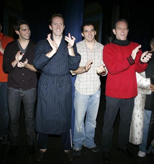 Con O'Shea-Creal, Jeffry Denman & Kevin Worley and Stephen Bogardus Photo
