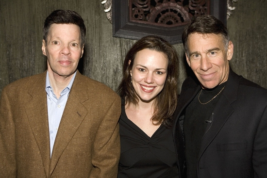 Micheal Kerker, Musical Director Georgia Stitt and Stephen Schwartz