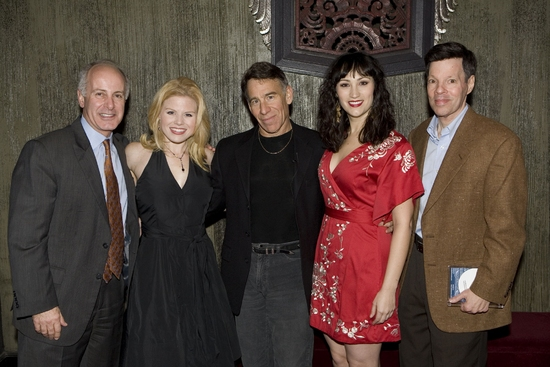 Joe Benincasa, Megan Hilty, Stephen Schwartz, Eden Espinosa and Michael Kerker