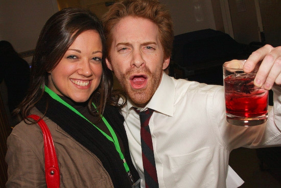Seth Green with Elizabeth Free