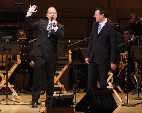 Mike Henry and Seth MacFarlane