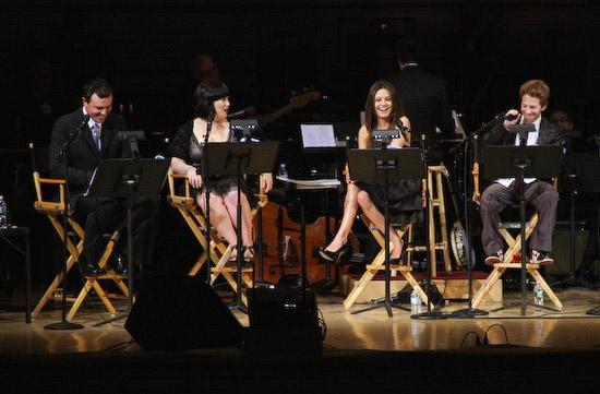 Seth MacFarlane, Alex Borstein, Mila Kunis, and Seth Green