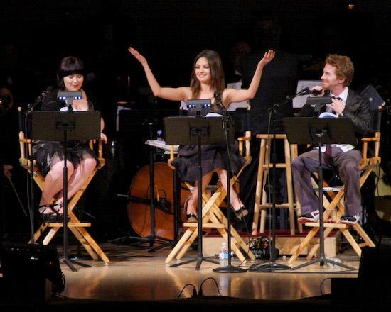 Alex Borstein, Mila Kunis, and Seth Green