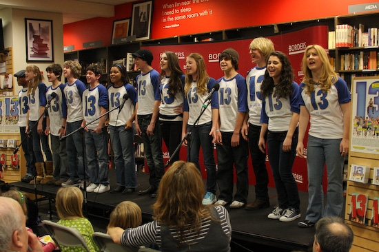 Photo Coverage: '13, A NEW MUSICAL' Borders CD Signing