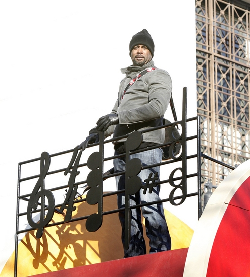 Darius Rucker at The 82nd Annual Macy's Thanksgiving Day Parade Part II